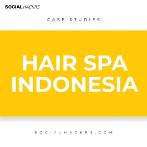 SMM Case Study -Local Hair Spa